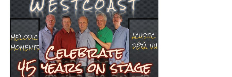WESTCOAST feiert 45-jähriges Bühnen-Jubiläum beim Open-Air am 8.8.20 im Hülsdonker Bahnhof
